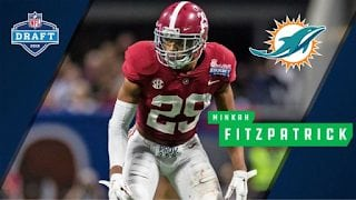 Dolphins Hit A Home Run With Pick Of Minkah Fitzpatrick