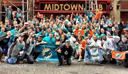 """Help Support  Employees at """"Dolphins Bar"""" Slattery's Midtown Pub"""