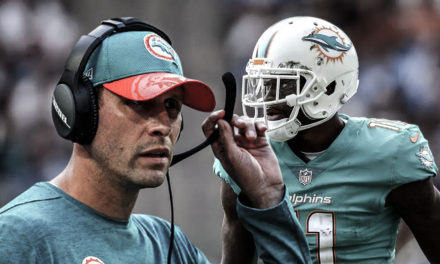 DT Daily 10/23: The Dolphins Mess at WR