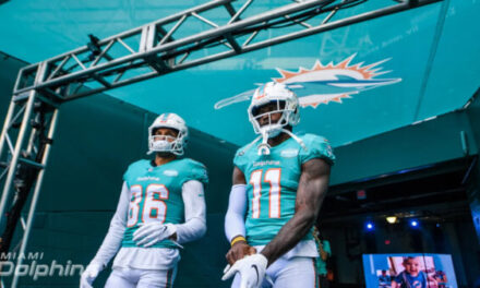 A Good Problem to Have: The Miami Dolphins Log Jam at WR