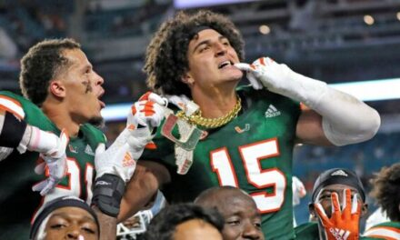 Miami Dolphins Select Jaelan Phillips DE Miami in Round 1, Pick # 18