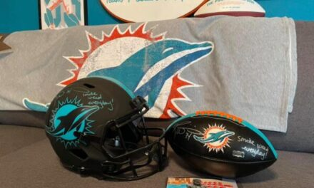 Win a Ricky Williams Autograph Combo to Help Raise Money for Charity