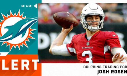 DT Daily: Rosen to Miami/Deiter Drafted by Fins