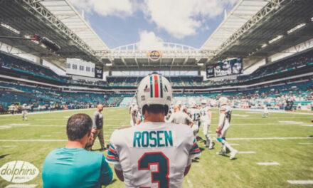 Josh Rosen Named Starting Quarterback