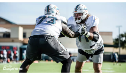 Positive Signs For The Offensive Line Early On