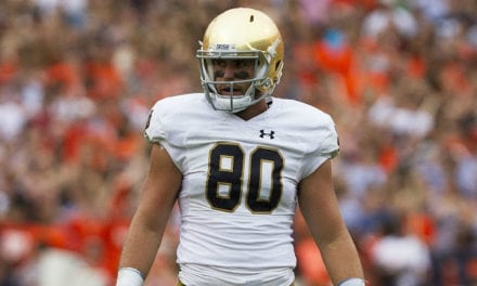 Round 4: Miami Selects – Durham Smythe, TE, Notre Dame