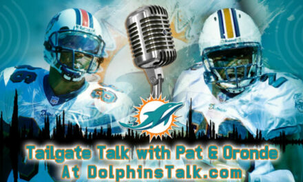 Tailgate Talk with Pat & Oronde for 8/15
