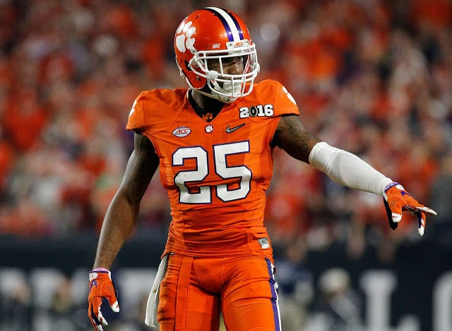 With Pick #97 Miami Selects CB Cordrea Tankersley