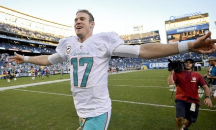 Dolphins Win; Lose Key player to Injury Possibly