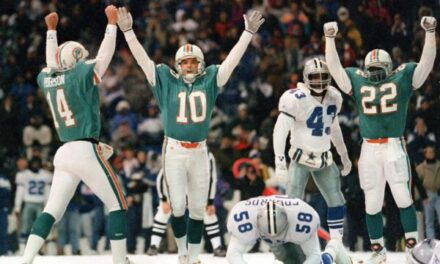 "This Day in Dolphins History: Dolphins Beat Cowboys on Thanksgiving in ""Leon Lett Game"""
