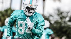 Timmons Walks Out on Dolphins