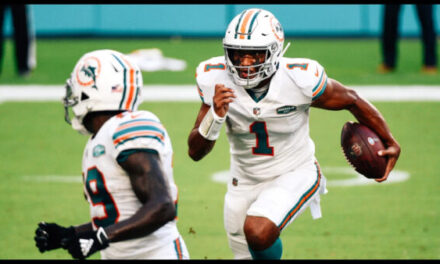 Miami Dolphins defeat the LA Chargers 29-21