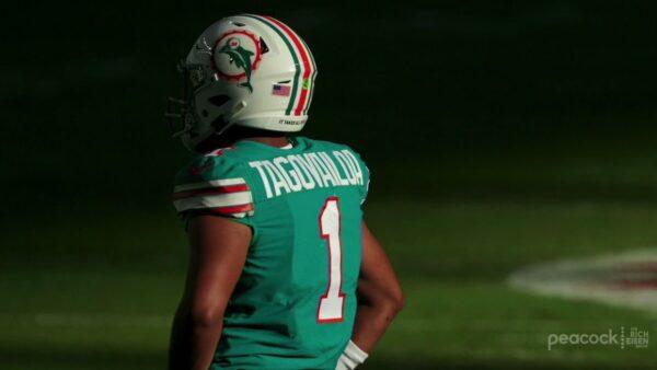 Is Tua Tagovailoa Toast in Miami?