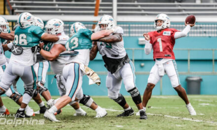 DT Daily 8/20: Tua vs Rosen, Dolphins Rookies Thus Far, & More Camp News