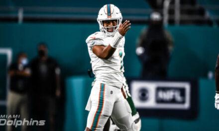 BREAKING NEWS: Miami Dolphins Name Tua Starting Quarterback