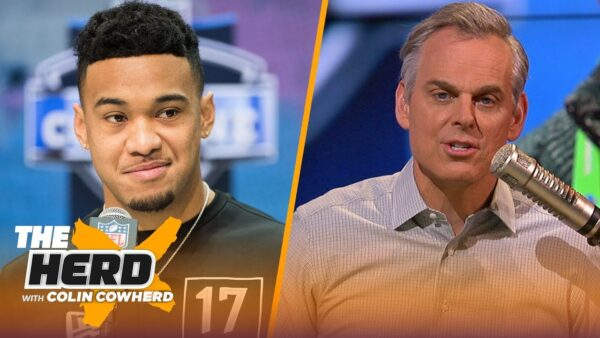 Colin Cowherd Had No Problem With Tua Benching
