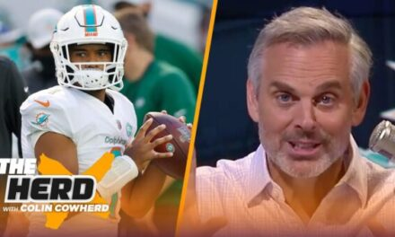 Colin Cowherd: Dolphins Should Stay at Pick #3 and Take Justin Fields