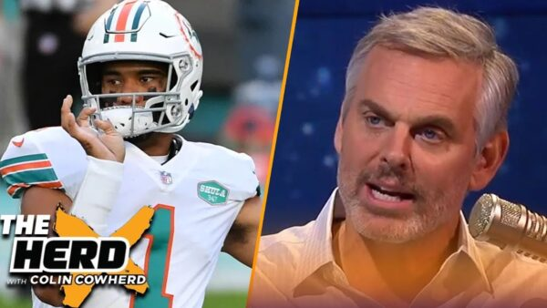 Cowherd: Flores Might Not Have Lost Confidence in Tua; But Players Have