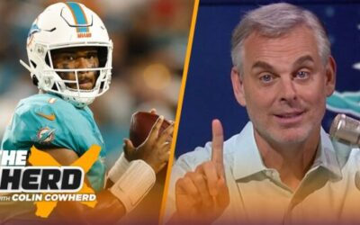 Colin Cowherd and Joy Taylor Talk about How the Dolphins Have Built Around Tua