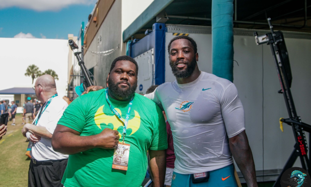 Pictures from Dolphins Practice