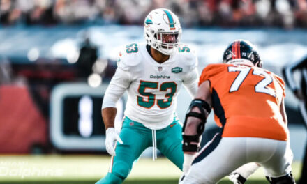 Dolphins Return to Sea Level with a Mile High Hangover