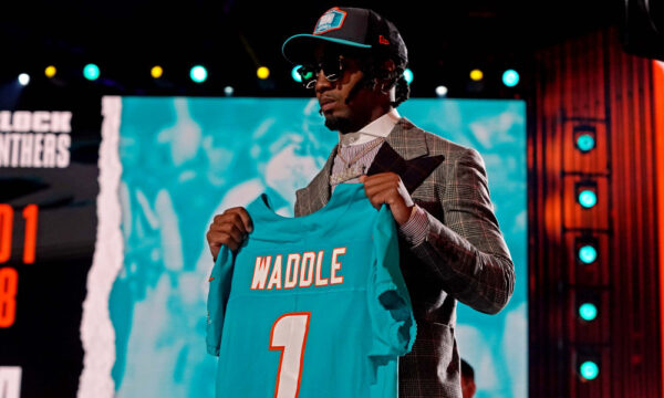 Ryan Leaf Thinks Dolphins Made a Mistake Drafting Waddle