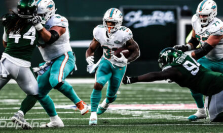 Dolphins Stall Jets: Move to 7-4