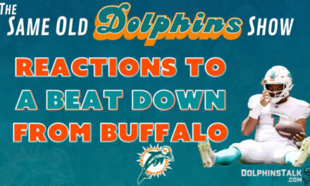 The Same Old Dolphins Show: Throwing Up the Kool-Aid (Week 2 Reactions)