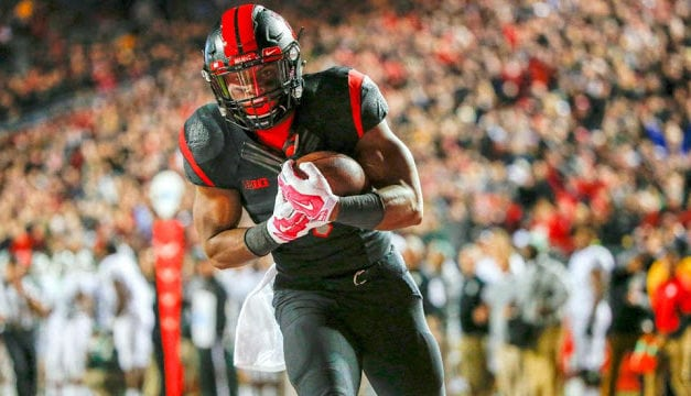 In the 3rd round with Pick #86 The Dolphins select Leonte Carroo WR/Rutgers
