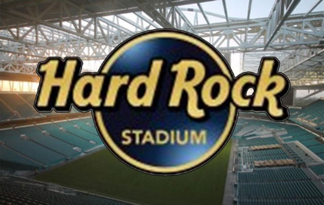 It's now Hard Rock Stadium