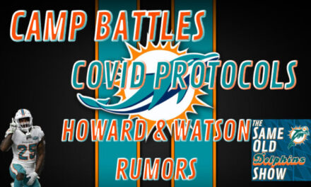 The Same Old Dolphins Show: 2021 Begins
