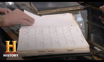 VIDEO: 1966 Miami Dolphins Playbook on Pawn Stars