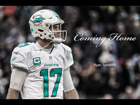 "Video: Ryan Tannehill ""Coming Home"""