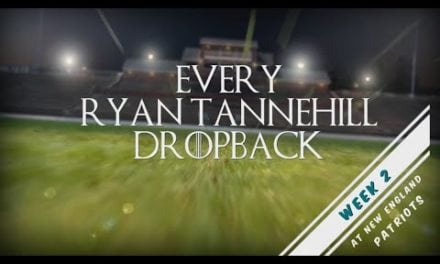 Every Ryan Tannehill Dropback from Week 2 vs New England