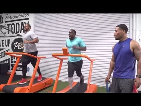 VIDEO: Ndamukong Suh working out with Kevin Hart