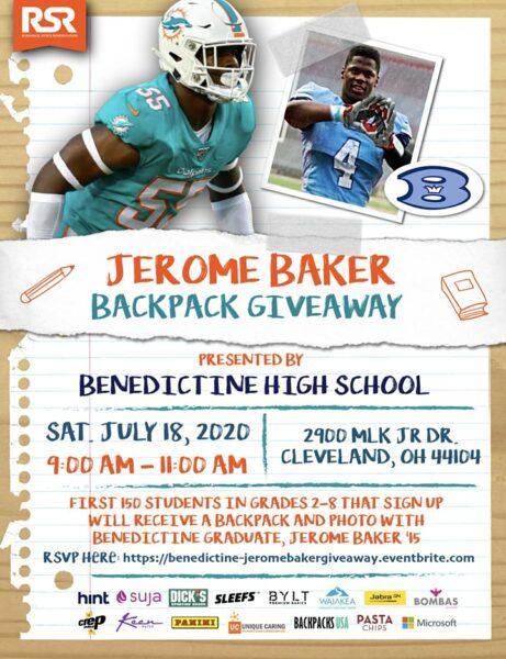 Jerome Baker Backpack Giveaway