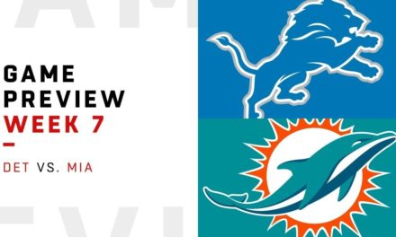 DT Daily 10/20: Detroit Lions vs Miami Dolphins Preview
