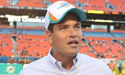 BREAKING: Marco Rubio wants Front Office Job with Miami Dolphins