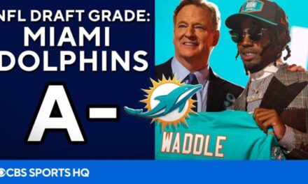 CBS SPORTS: NFL Draft Report Card – Miami Dolphins get an 'A-'