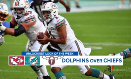 Rich Eisen's Unlockiest Lock of the Week: Dolphins over Chiefs