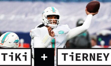 Tiki and Tierney: Should the Dolphins Stick with Tua Tagovailoa?