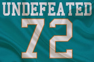 The Dolphins Are Currently Undefeated