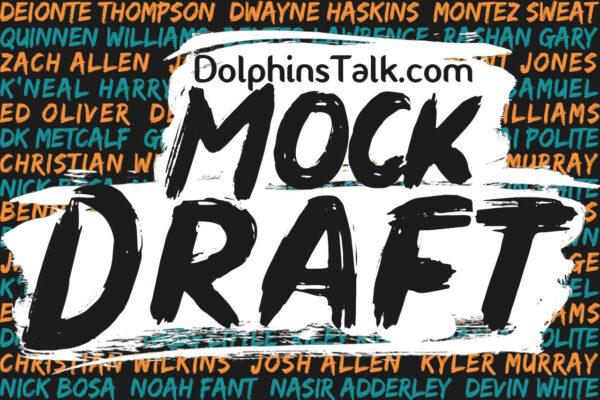 Ryan's 2021 DolphinsTalk.com 1st Round Mock Draft