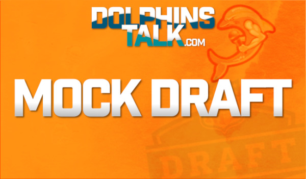 Mike's Miami Dolphins 7 Round Mock Draft