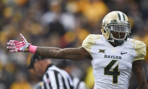 In the 2nd round with the 38th pick the Miami Dolphins select Xavien Howard  CB/Baylor