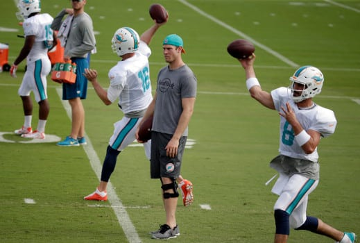 Why the Dolphins Should Draft a QB This Year and Every Year