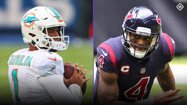 ESPN: Should the Dolphins go with Tua or Watson at Quarterback