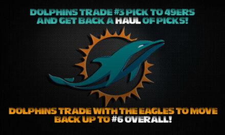 BREAKING NEWS AUDIO: Dolphins Make TWO Big Draft Day Trades!
